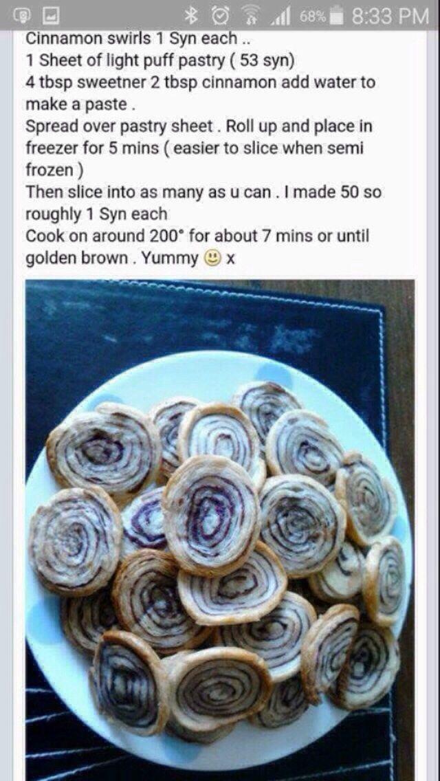1syn cinnamon swirls