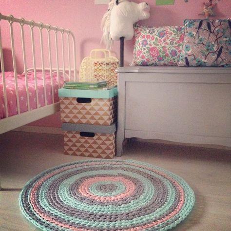 DIY Tapis crochet Trapilho                                                                                                                                                                                 Plus