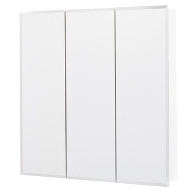 Shop Style Selections  30.25-in x 29.75-in White Particleboard Surface Mount Medicine Cabinet at Lowe's Canada. Find our selection of medicine cabinets at the lowest price guaranteed with price match.