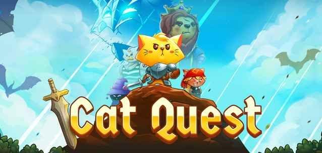 """Cat Quest - un divertente RPG a base di gattini per iPhone e Android! Appassionati di RPG Opne World e di gattini?  Con """"Cat Quest"""" per iPhone e Android potrete godervela alla grande, poco ma sicuro ????  Nei panni del simpatico protagonista (un gattino incazzato alla #android #iphone #giochi #gatti #rpg"""