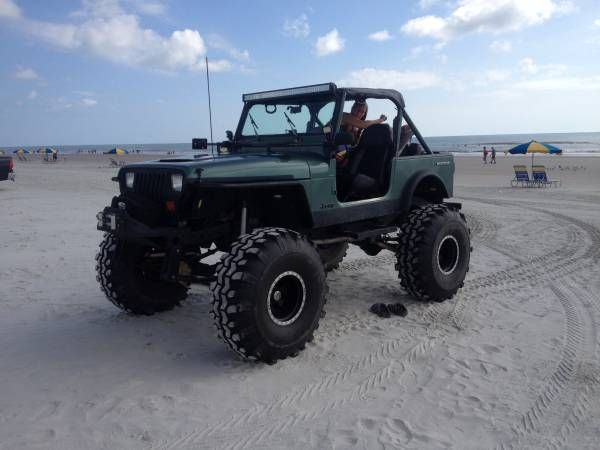 1990 lifted Jeep Wrangler – auto parts – by owner