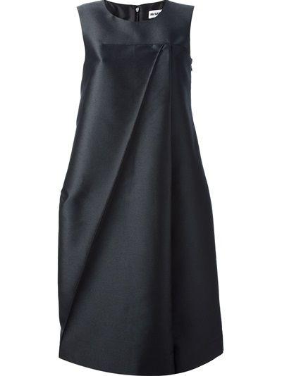 JIL SANDER - sleeveless voluminous dress 6