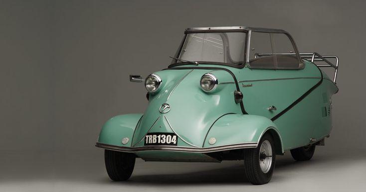 Messerschmitt KR200 aka Cabin Scooter... so cute
