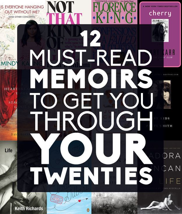 12 Must-Read Memoirs To Get You Through Your Twenties