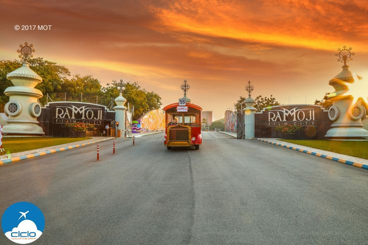 2000 acres of movies, entertainment, and unlimited fun! #RamojiFilmCity #Hyderabad #India #CicloTourism