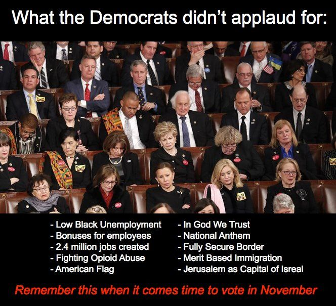 Democrats ate traitors to the country. Deal with it. They want to destroy America as we know it and replace it with a poverty stricken socialist swamp that they rule over.