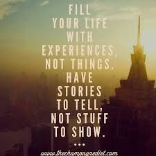 Spend money on experiences not things!! Find your balance, make vacations extraordinary family time.