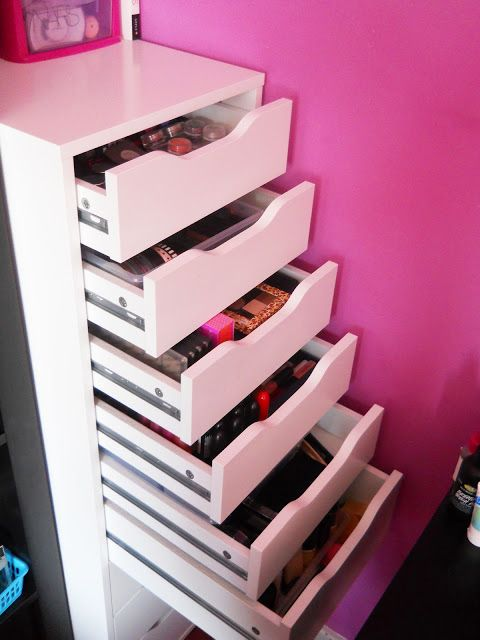 My Makeup Obsession: Updated: Makeup Storage