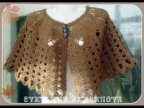 Capita tejida a Crochet/Ganchillo - YouTube