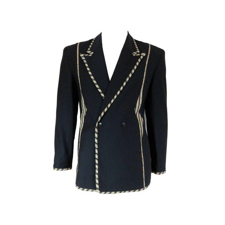 Vintage 80s Current Stage Jacket Coat SxrZRFX5x