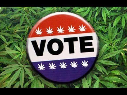 Americanos votam sobre legalização da Maconha