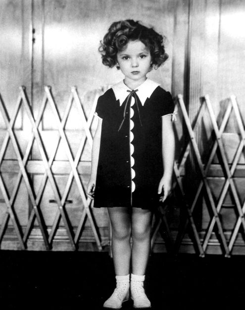 shirley temple - that dress.  That face