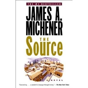 James Michener - The Source. Favorite book of all time.