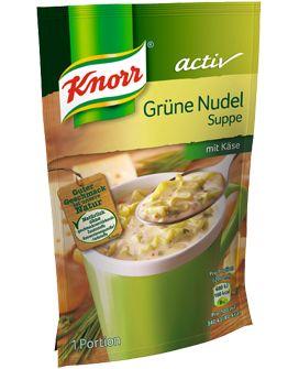 Knorr+activ+Grüne+Nudelsuppe+mit+Käse