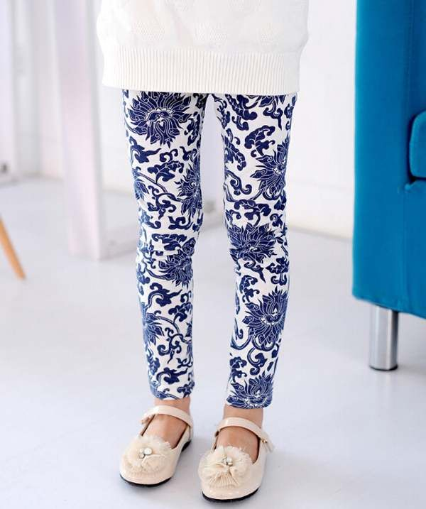 1PCS Baby Kids Children's Floral Printing Leggings 100 140cm Height Pencil Pant Trousers Baby Girl Leggings Free Shipping-in Pants from Kids & Mothercare on Aliexpress.com | Alibaba Group