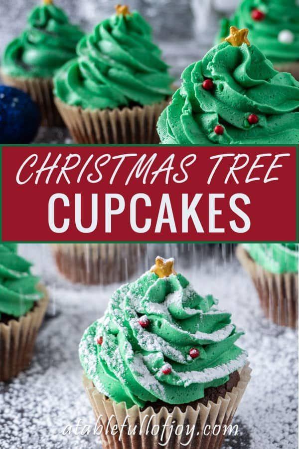 Christmas Tree Cupcakes Recipe The Best Christmas Baking Recipes