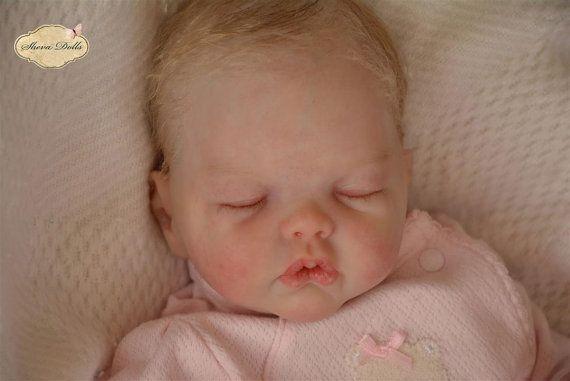 Bambola reborn baby neonato KIT Adelynn di Emily di BabiesByEmily
