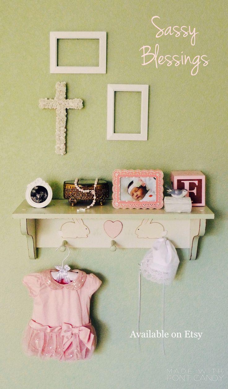 94 best Baptism wall Cross girl images on Pinterest