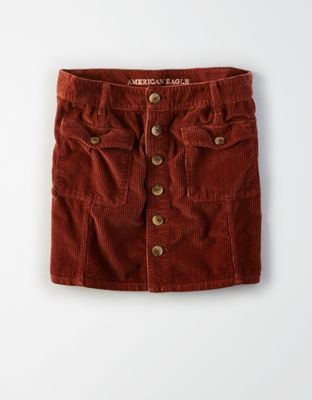 c128c7ac18 AE High-Waisted Festival Corduroy Skirt by American Eagle Outfitters |  Backstage style.Backstage style. Shop the AE High-Waisted Festival Corduroy  Skirt and ...