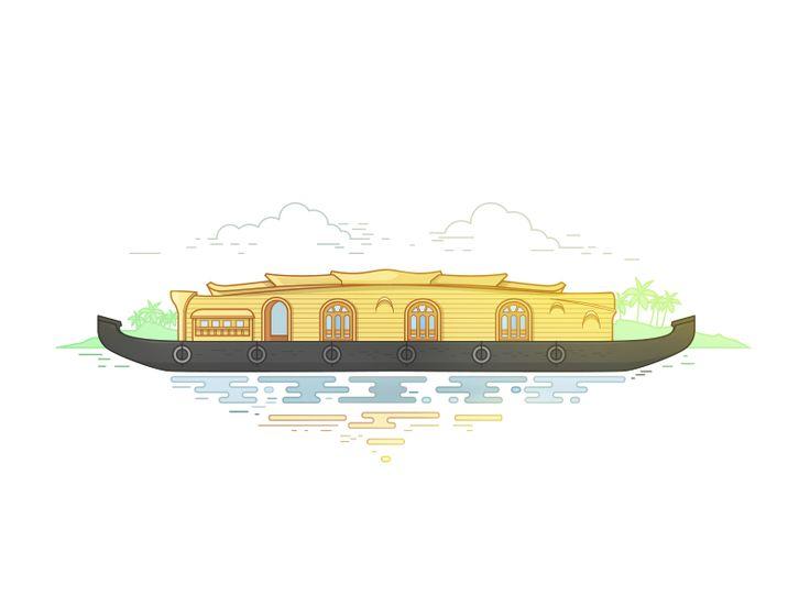 Kerala illustration afzalcmk
