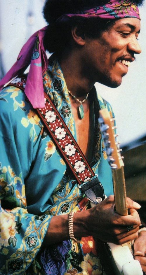 Jimi Hendrix. The smile of an angel, soul of a gypsy and hands of a god.