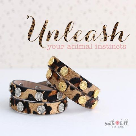 Take a step into the wild side with our new Signature South Hill Wraps in leopard print!   http://SouthHillDesigns.com/TammyTamayo