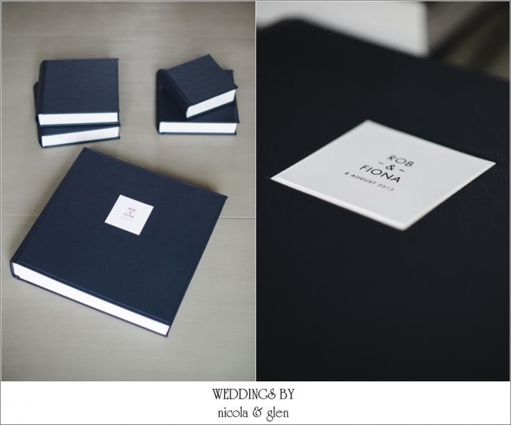 Queensberry Wedding Album With Mini Copy Albums