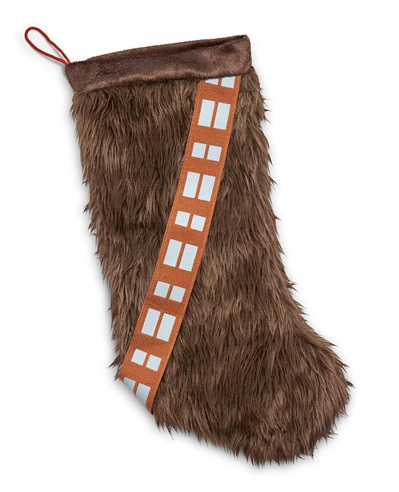 Chewbacca Stocking Celebrates A Kashyyyk Xmas On Here On Earth -  #Chewbacca #starwars #xmas