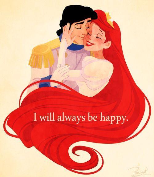 リトルマーメイド幸せそうなアリエルとエリック王子♡♡♡                                                                                                                                                                                 もっと見る