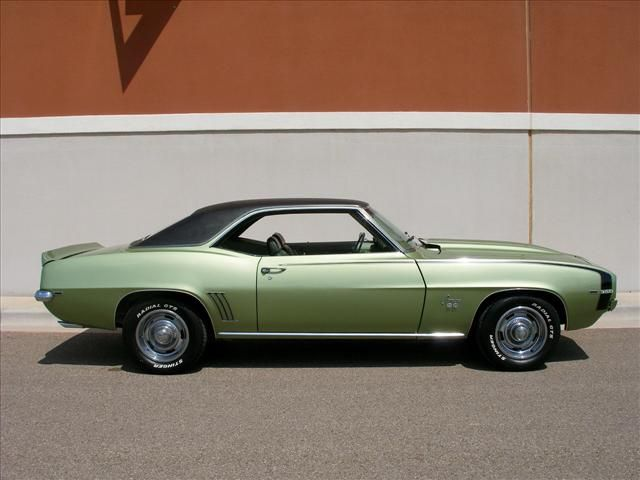 Frost Green 69 Camaro | paint htm garnet red azure ...