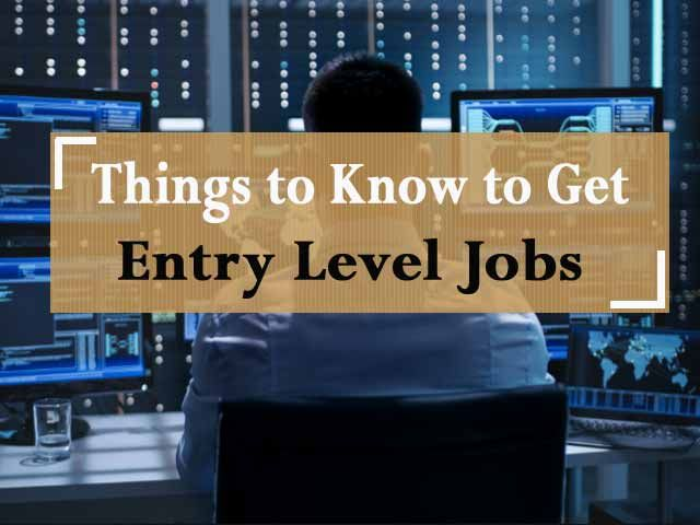 Computers Internet And Networks Became Required Things For Enterprises Organizations Need Experts And Experienced Profession Entry Level Jobs Entry Level Job