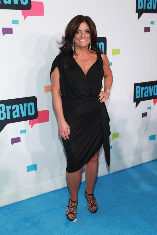 Kathy Wakile PHOTOS: Bravo Reality TV Stars Attend 2013 Upfronts - Real Housewives of New Jersey