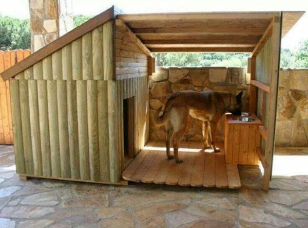 20 Awesome Outdoor Dog Houses | Home Design And Interior
