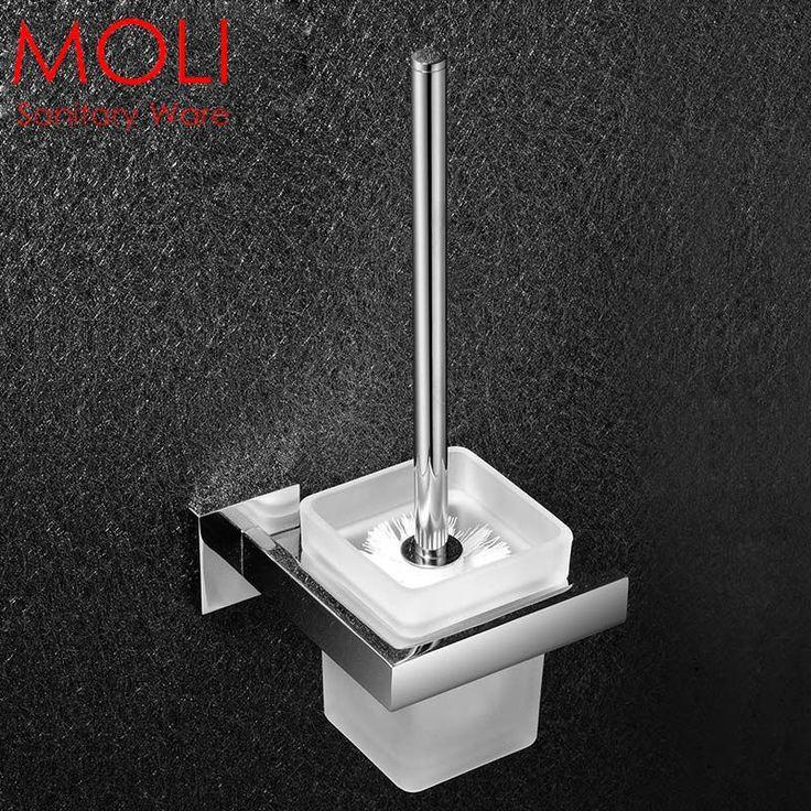 Ванная комната держатель для туалетной щетки набор из нержавеющей стали ванная комната декоративные аксессуары оборудование для ванной