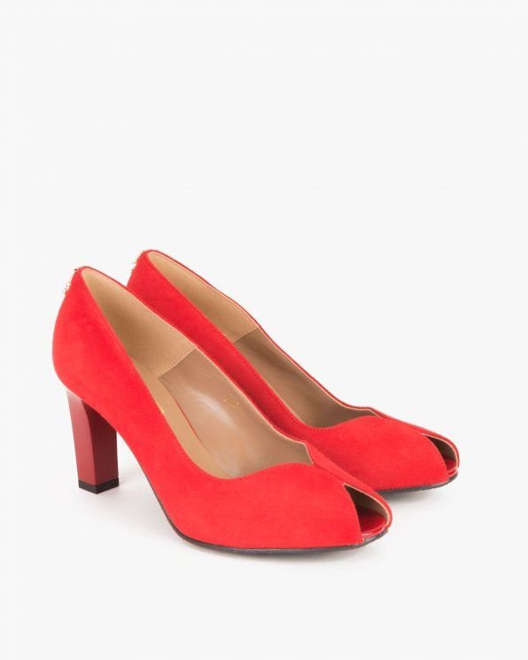Czolenka 024 2907 82 Heels Kitten Heels Shoes