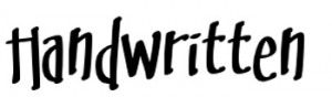 20 free elegant handwritten fonts: Letters Mingl
