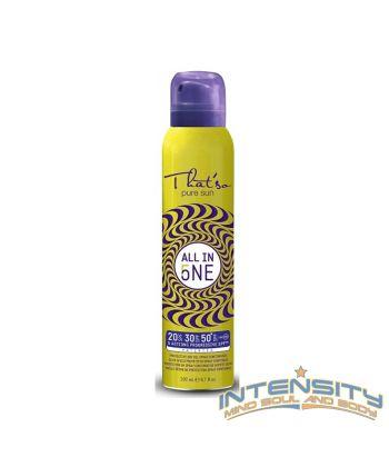 5 AZIONI - SPF PROGRESSIVO Olio secco protettivo spray continuo 5 Azioni SPF in un solo prodotto spray continuo, per un trattamento innovativo. In pochi minuti la protezione UVA/UVB che si desidera per la propria pelle.