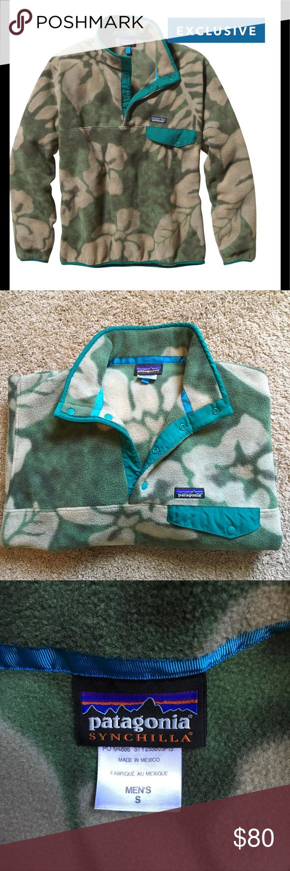 Patagonia Synchilla Snap-T Fleece Pullover Patagonia Synchilla Snap-T Fleece Pullover Spice Garden. Hawaiian print. Excellent Condition. Only worn Once. Exclusive print that is unavailable now. Patagonia Sweaters