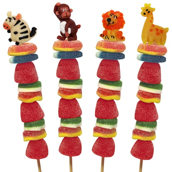 Cute candy kabob idea