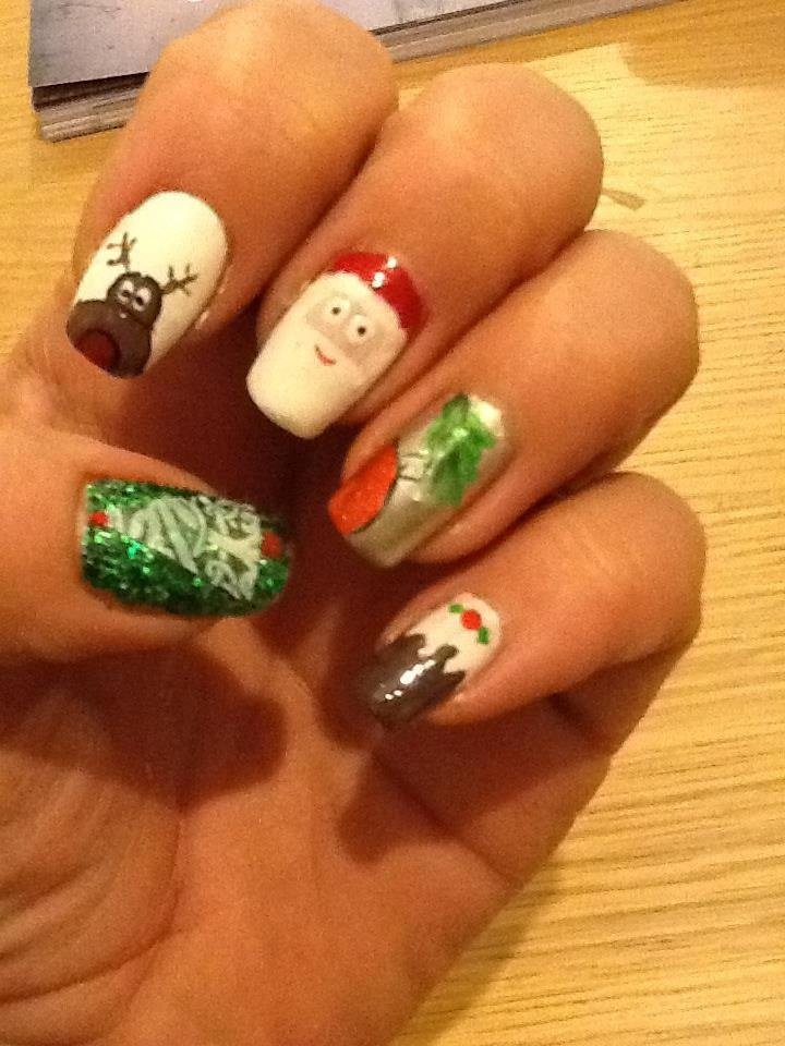 Christmas Nail Art By Michelle Marshall DesignsChristmas NailsCompetitionHoliday Nails