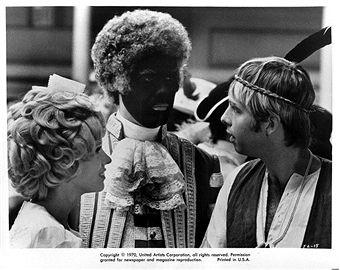 robert klein blackface the landlord | Susan Anspach and Robert Klein encounter Beau Bridges in a scene from ...