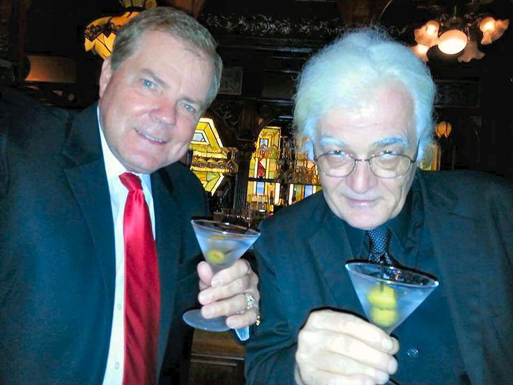 With Master Mentalist, Bob Cassidy at the Magic Castle. Cheers!
