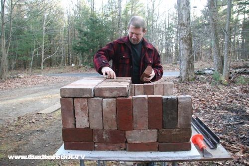 How Do You Make Clay Bricks : Brick pizza oven and plans rocket stoves pinterest