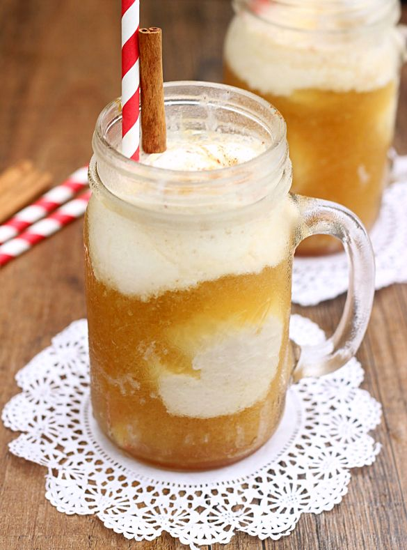 Apple Cider FloatsApples Cider, Delicious Fall, Delicious Apples ...