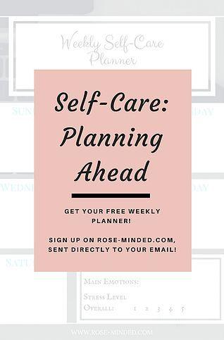 Self-Care | Mental Health | Rose Minded