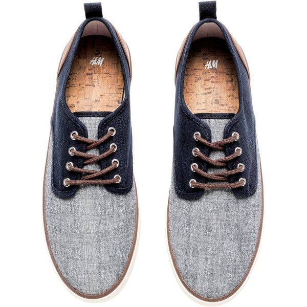 Canvas Sneakers $29.99 (570 ARS) ❤ liked on Polyvore featuring shoes, sneakers, lace up sneakers, laced up shoes, canvas trainers, plimsoll shoes and canvas sneakers