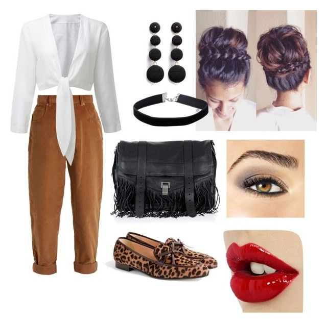 Singled Out by graciejohnstone on Polyvore featuring polyvore fashion style Miu Miu J.Crew Proenza Schouler Kenneth Jay Lane Miss Selfridge Avon clothing
