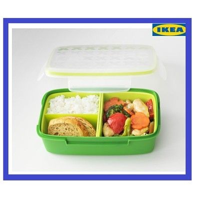 IKEA  Pudełko na lunch FESTMALTID bez BPA fit DUŻE