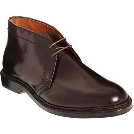 Alden Plain Toe Chukka at Barneys.com