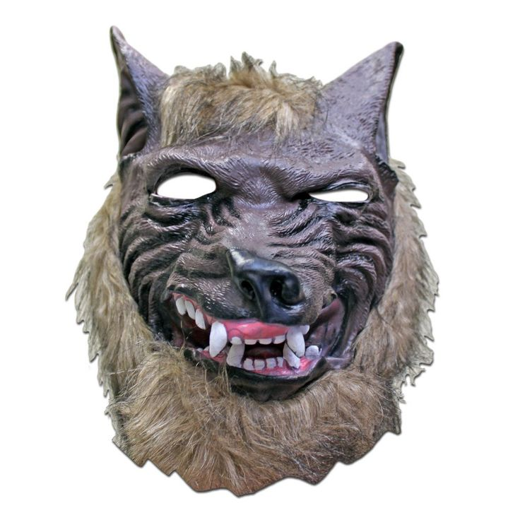 masquerade mask werewolf scary halloween mask 1 - Scary Halloween Masks Images